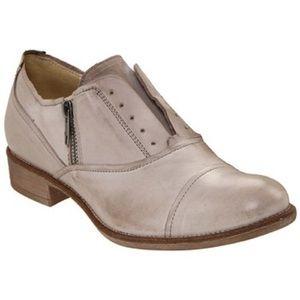 Boutique 9 Rochelle Zip genuine Leather Oxfords